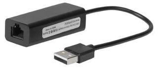 USB2.0 to Ethernet, Noir