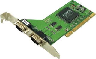 PCI KORT, 2 PORT RS-232