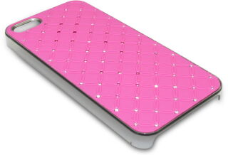 Bling Cover iPh5 Diamond Pink