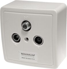 Wall outlet MX 600