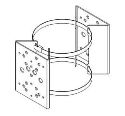 Pole Bracket Clamp for