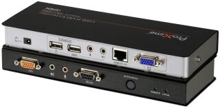 USB KVM Extender, Dual Console