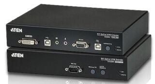 DVI Optical Fiber KVM Extender