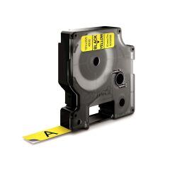 D1 12mm tape sort/gul