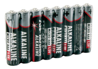 8xBatterie, Micro AAA Rouge-line