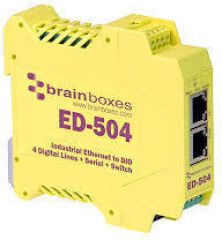 Ethernet to 4 Digital IO and