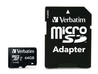 64 GB PRO microSDHC U3