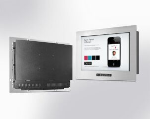 """19"""" LCD monitor w. touch"""