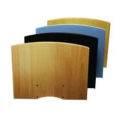Flat shelf H Noir+Consol