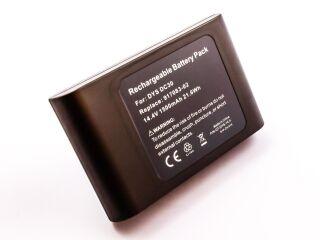 21.6Wh Dyson DC30 Batterie