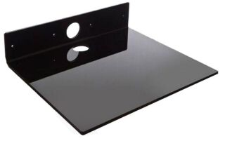 Codec shelf, Noir 8 mm acryl