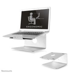 Laptop Desk Stand Silver