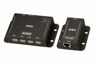 4-Port USB 2.0 CAT 5 Extender