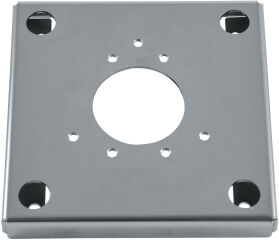 Counter-plate in stainless
