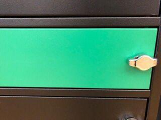 NoteLocker door, Vert, 1pcs