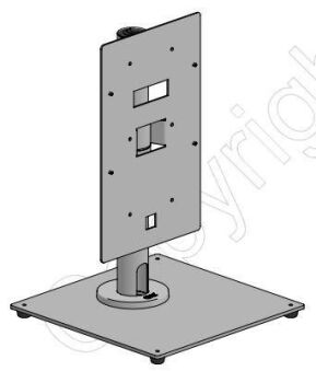 400mm Pole on Free Standing