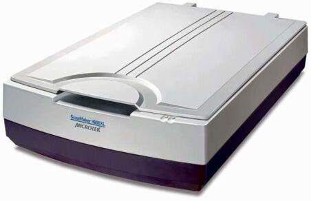 ScanMaker 9800XL Plus Silver