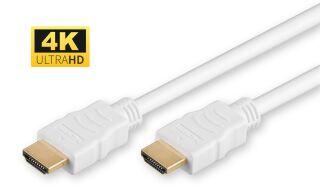 HDMI v1.4 19 - 19 1m M-M Blanc